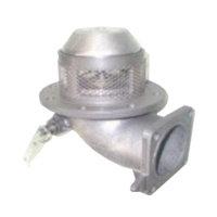 """Пневматический донный клапан 4"""" секвенционального типа с фильтром из нержавеющей стали"""