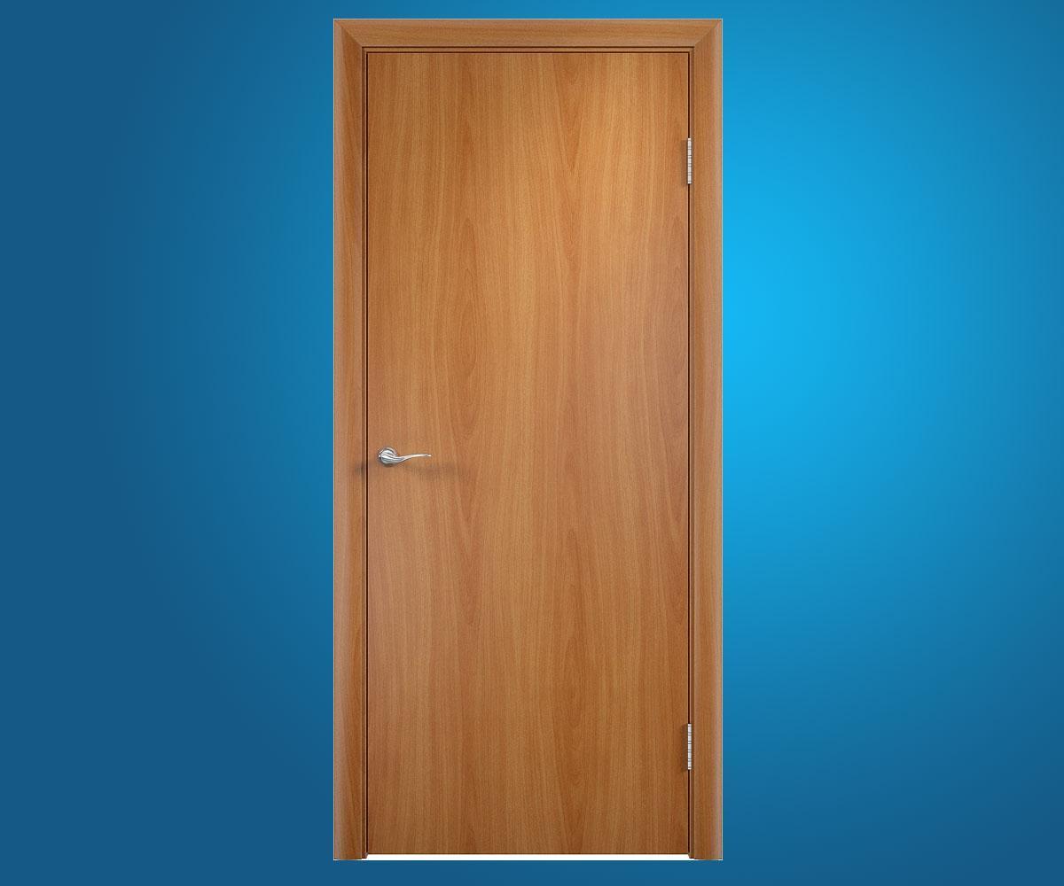 Ламинированные двери ДПГ Миланский орех