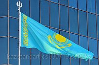 Флаг РК 3*6 м (Полиэстр, уличный)
