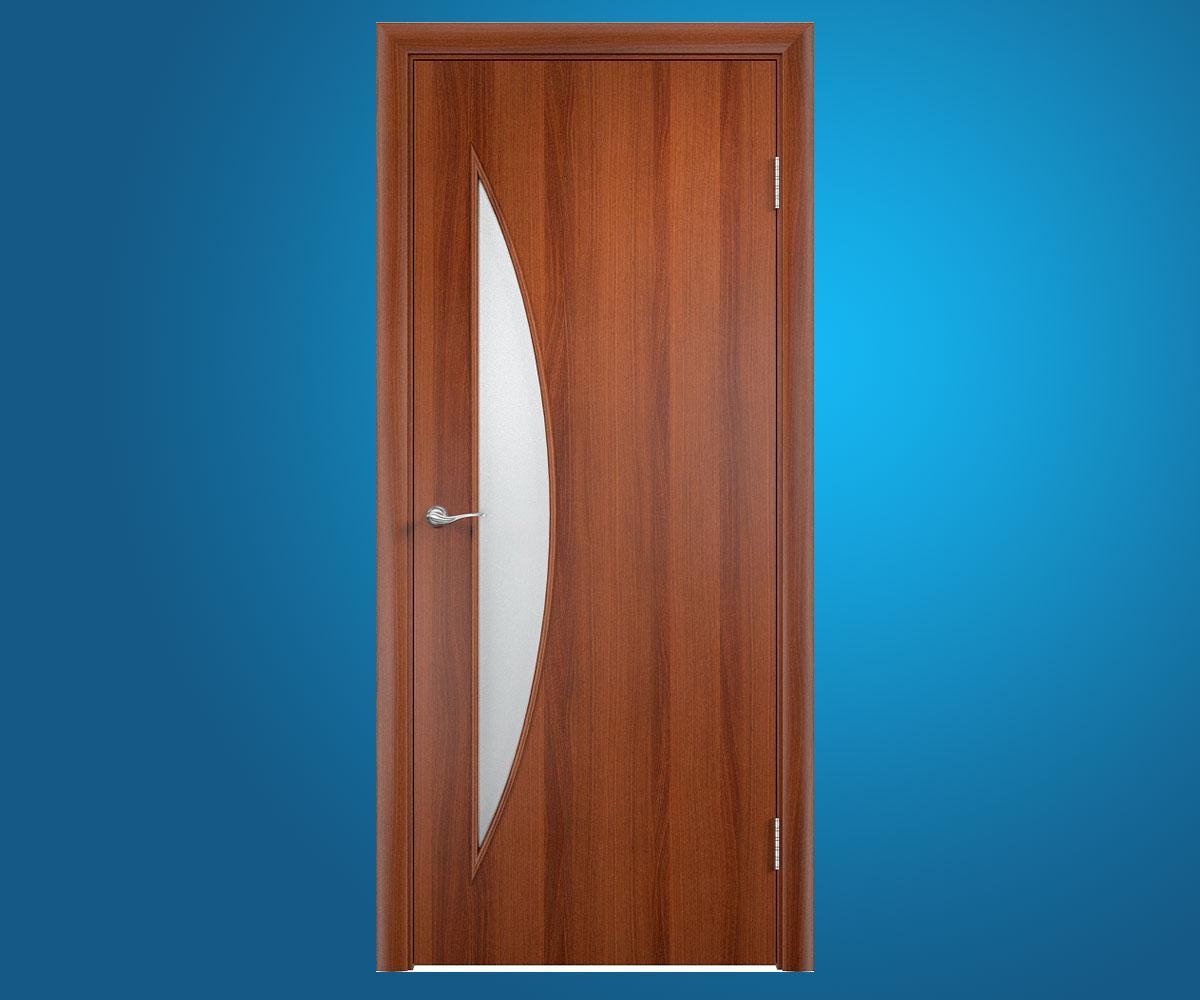 """Ламинированные двери """"Парус"""" Итальянский орех"""