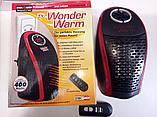 Портативный обогреватель в розетку Wonder Warm с пультом, фото 2