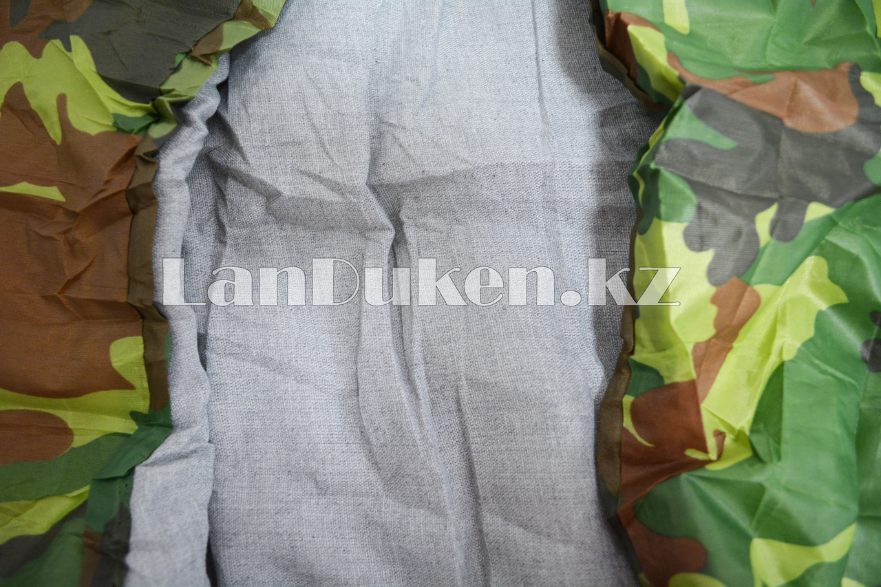 Камуфляжный спальный мешок 212х64см с чехлом - фото 3