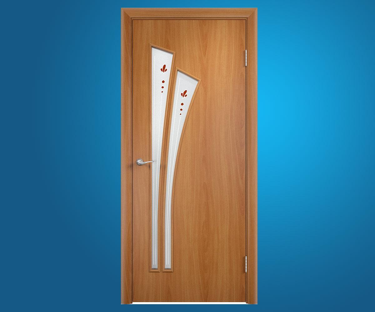 """Ламинированные двери """"Салют"""" Миланский орех"""