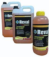 REVAL Антифриз G12 + Hybrid (оранжевый). Канистра 5 кг.