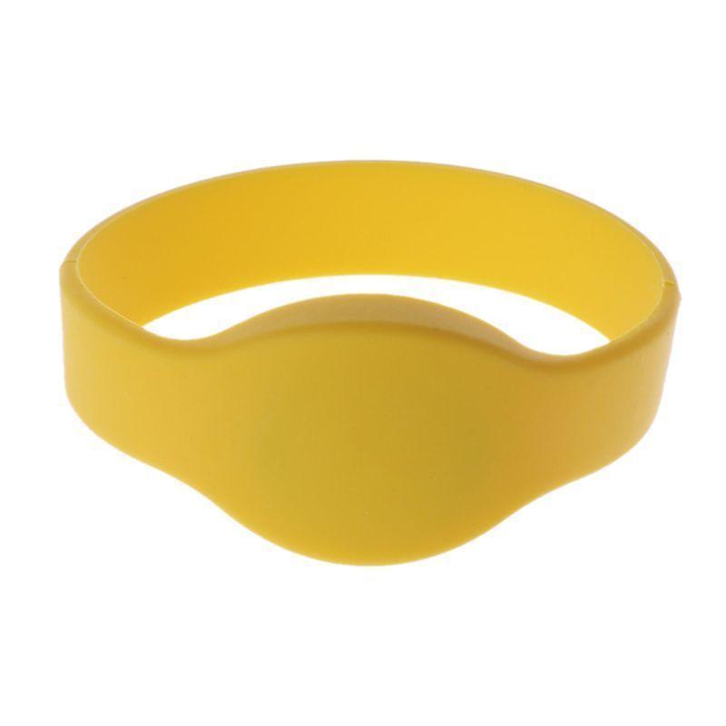 Браслет ST-PT074MF-YL с MIFARE идентификатором, диаметр 74 мм, желтый