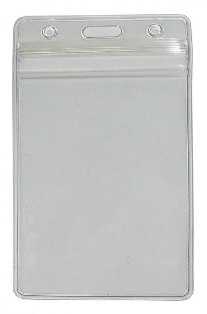 Кармашек вертикальный гибкий виниловый с клапаном ST-AC202VP