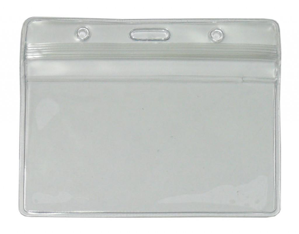 Кармашек горизонтальный гибкий виниловый с клапаном ST-AC202HP