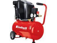 Компрессор TH-AC 200/40 OF Объем 40 литров Мощность 1,1 кВт Давление 8 бар 140 л./мин.Einhell