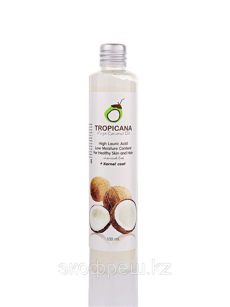 Кокосовое масло косметическое Tropicana первого отжима 100 мл