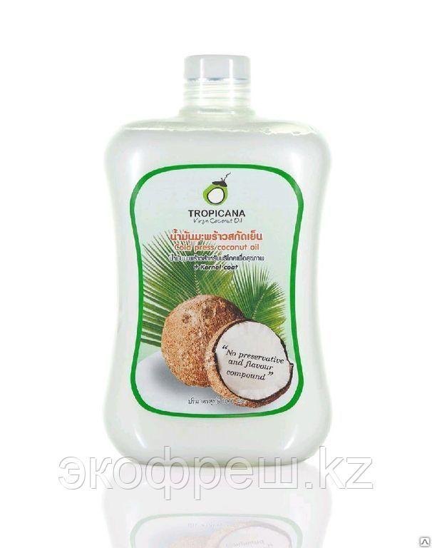 Кокосовое масло тропикана холодного отжима 1 л