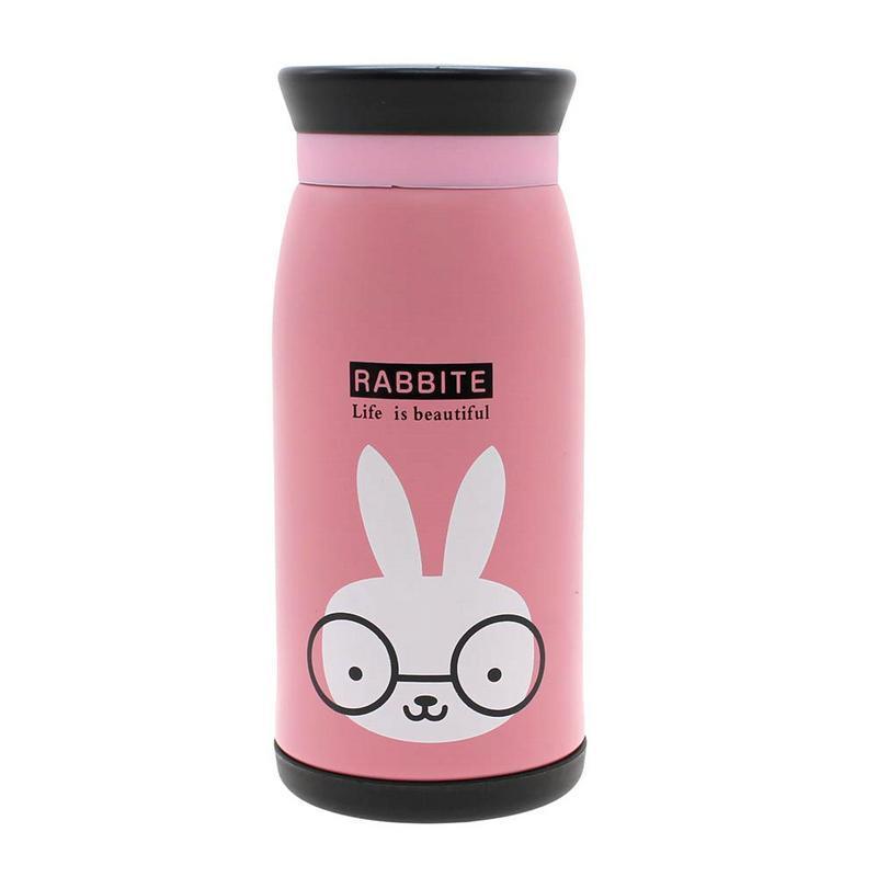 Детский термос-бутылочка зайчик