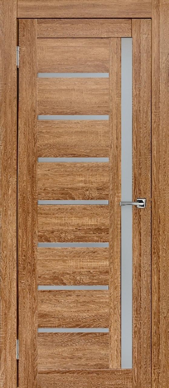 """Межкомнатные двери """"Вертикаль""""Дуб золотой"""
