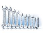 Ключи гаечные двусторонние (КГД). ГОСТ 2839-80