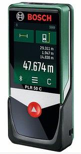Лазерный дальномер (50 м) Bosch PLR 50 C. Внесен в реестр СИ РК.