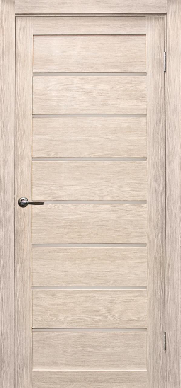 """Межкомнатные двери """"Линия"""" Лиственница кремовая"""