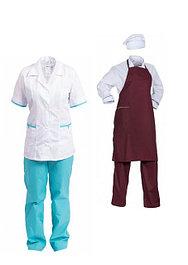 Одежда для медицины и сферы обслуживания