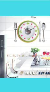 Часы-наклейки (серия 10А) 50Х50 см