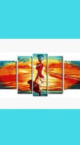 МОДУЛЬНЫЕ КАРТИНЫ по номерам без подрамника (диптихи, триптихи, полиптихи)