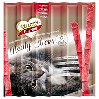 STUZZY FRIENDS палочки для кошек (с говядиной) 6шт. по 5 гр.