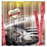 STUZZY FRIENDS палочки для стерилизованных  кошек (с курицей) 6шт. по 5 гр.