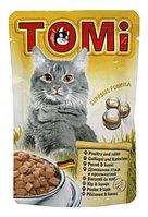 TOMI пауч - для кошек (птица и кролик) 100 гр.