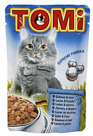 TOMI пауч - для кошек (лосось и форель) 100 гр.