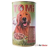 TOMI консервы - для собак (с ягненком) 1.2 кг.