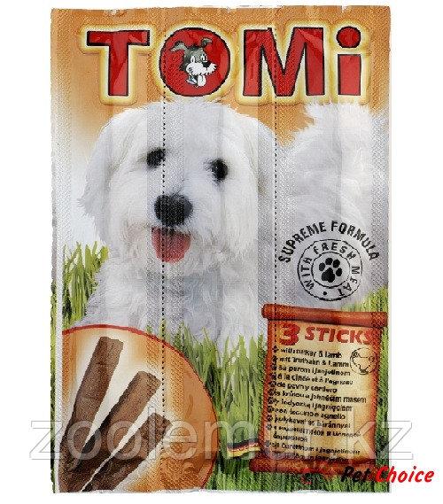 TOMI палочки для собак (с индюшатиной и молодой бараниной)