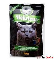 ToMi Delicious «Французская кухня» консервы для кошек (с телятиной, уткой и прованскими травами) 100 гр.