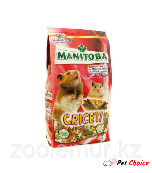 Manitoba Criceti корм для хомяков 1 кг.