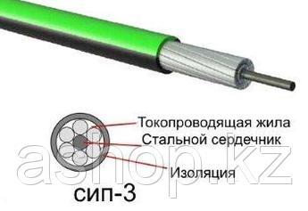 Провод самонесущий СИП-3 (АС) 1х70, Жила: Многопроволочная, Кол-во жил: 2, Материал жилы: Алюминиевый сплав со