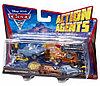 Cars 2 Mattel Action Agents Grem Grimm and Finn McMissile Тачки 2 Грэм Гримм и Финн МакМиссл