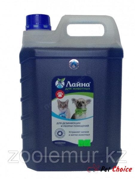 Лайна Дезинфицирующее средство с моющим и дезодорирующим эффектом 5 л.