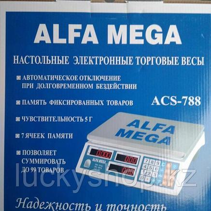Alfa mega настольные электронные торговые весы, фото 2