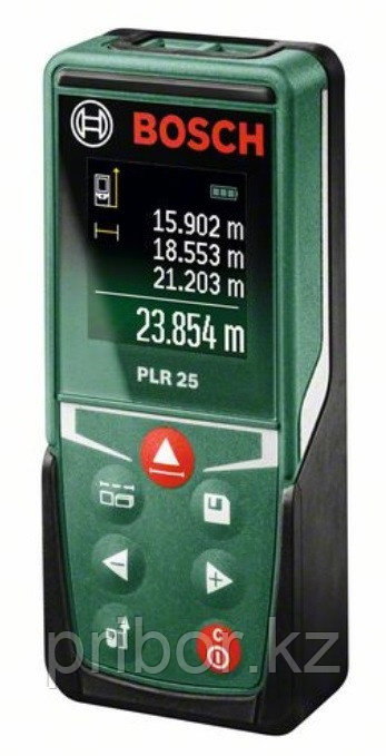 Лазерный дальномер (25 м) Bosch PLR 25. Внесен в реестр СИ РК.