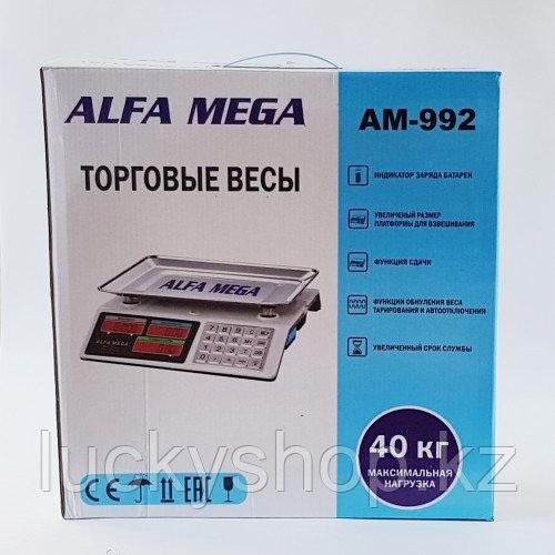 Весы торговые Alfa Mega AM-992