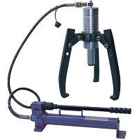 МАСТАК Съемник подшипников гидравлический, 30 т, до 550 мм, 3 предмета