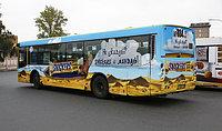 Реклама в автобусах в Казахстане, фото 1