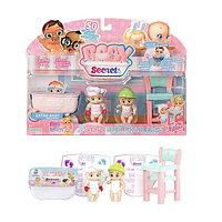 Игрушка BABY Secrets Набор с детским стульчиком, блистер