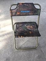 Складной туристический стульчик со спинкой