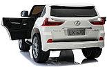 Детский электромобиль Lexus (Лексус) LX 570, черный, фото 6