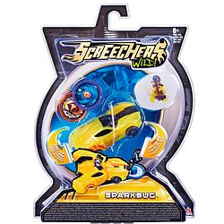 Спаркбаг Дикие Скричеры Машинка-трансформер Жук  Screechers Wild Sparkbug 34822