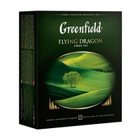 Greenfield зеленый чай Flying Dragon, 100 пакетиков