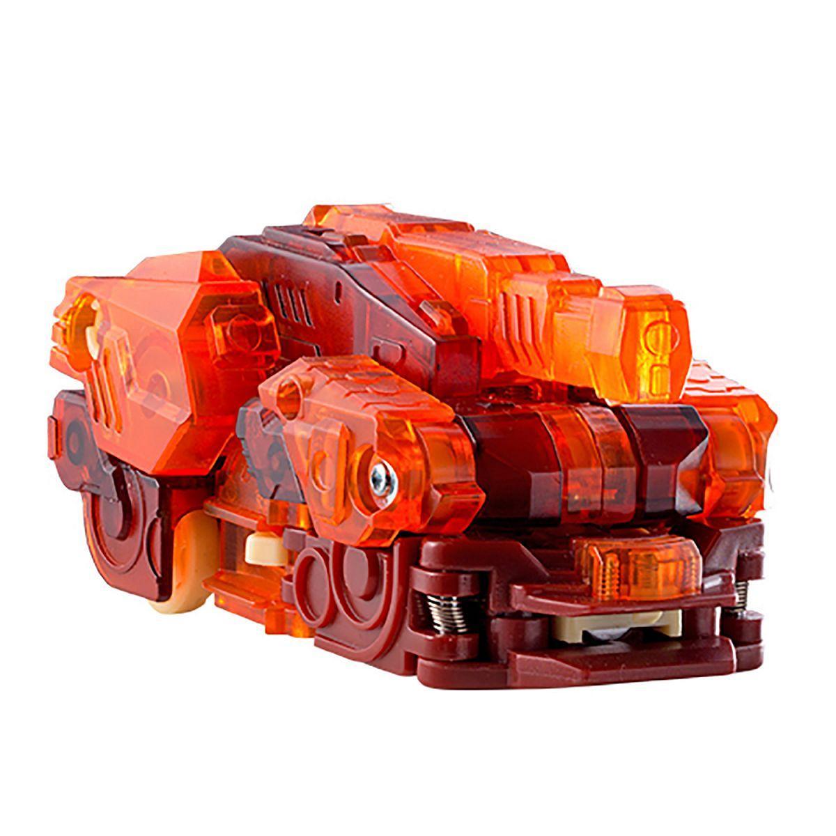 Дикие Скричеры 34828 Машинка-трансформер Спайкстрип Стегозавр л2 Screechers Wild Spikestrip - фото 3