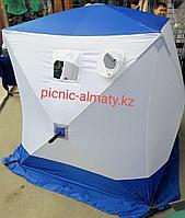 Палатка для зимней рыбалки Куб Следопыт 3х местная