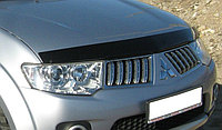 Мухобойка (дефлектор капота) EGR Mitsubishi Pajero Sport 2008-2015 узкий