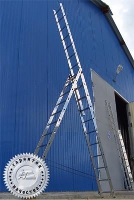 Лестница трехсекционная универсальная многоцелевая (Серия H3) 5307