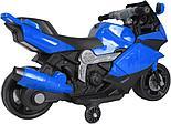 Электромотоцикл спортивный BAW 600, синий, фото 3