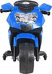 Электромотоцикл спортивный BAW 600, синий, фото 4