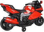 Электромотоцикл спортивный BAW 600, красный, фото 4